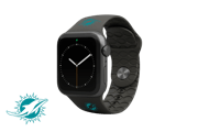 Apple Watch Band NFL Miami Dolphins Black - Groove Life