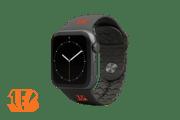 Apple Watch Band NFL Cincinnati Bengals Black - Groove Life