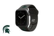 Apple Watch Band College Michigan State Black - Groove Life