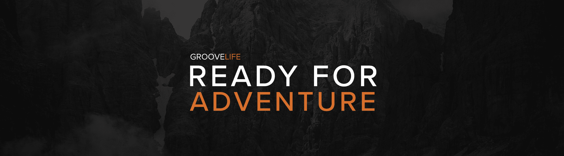 Ready For Adventure, mountains background