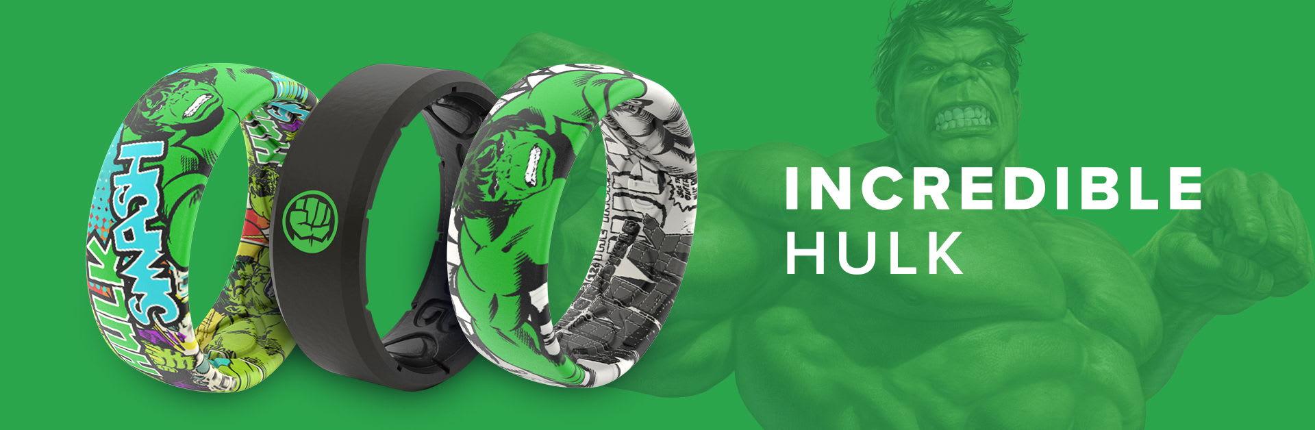 Hulk Marvel Rings