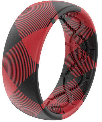Plaid Rings