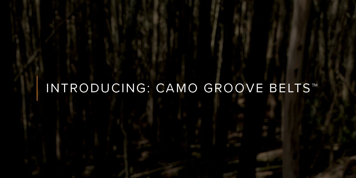 Introducing Camo Belts
