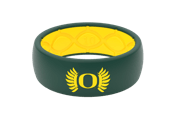 Original College Oregon Wings - Groove Life Silicone Wedding Rings