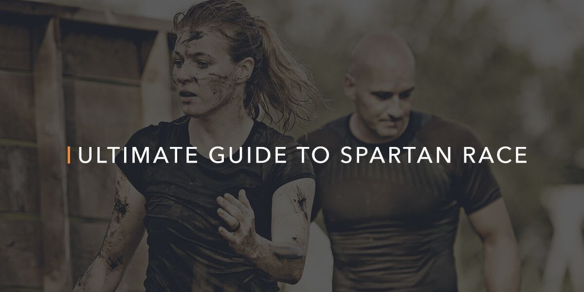 woman running in a spartan race