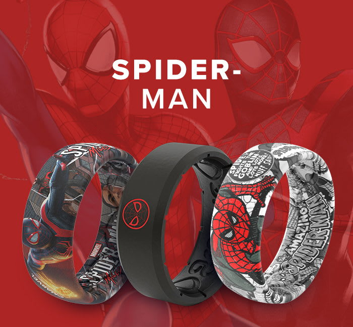Shop Spider-Man Marvel Rings