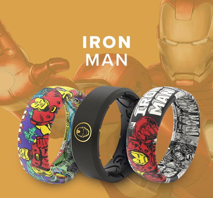 Iron Man Marvel Rings
