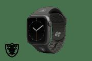 Apple Watch Band NFL Las Vegas Raiders Black - Groove Life