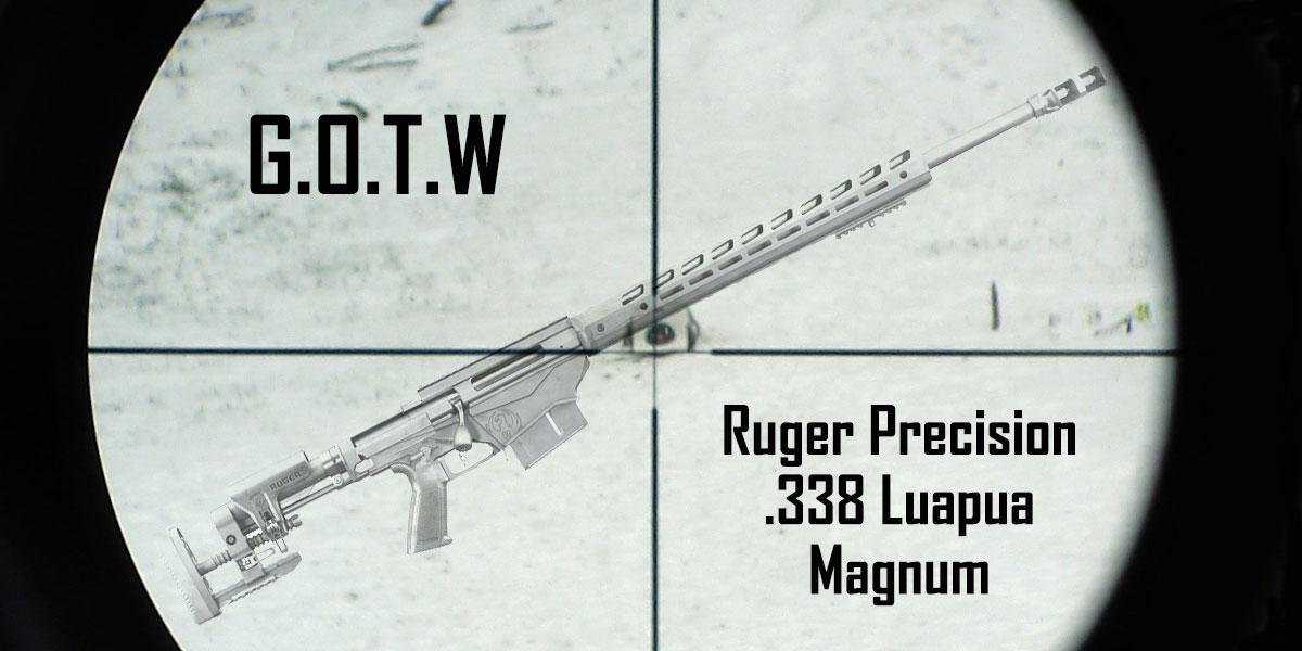 Ruger Precision Lapua .338 Magnum Rifle