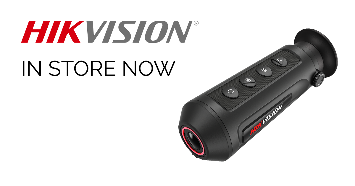 New Thermal Spotters from Hikvision