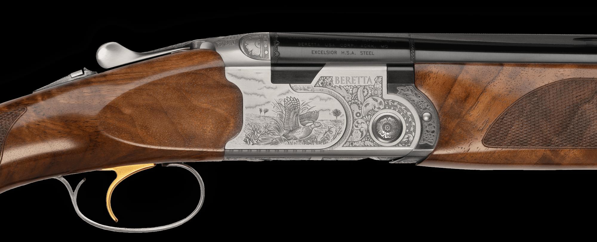 Beretta Silver Pigeon III Action