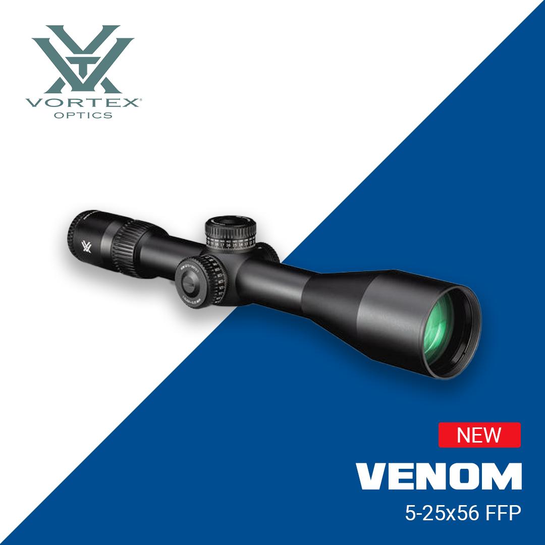 New Vortex Venom 5-25x56 FFP Rifle Scope