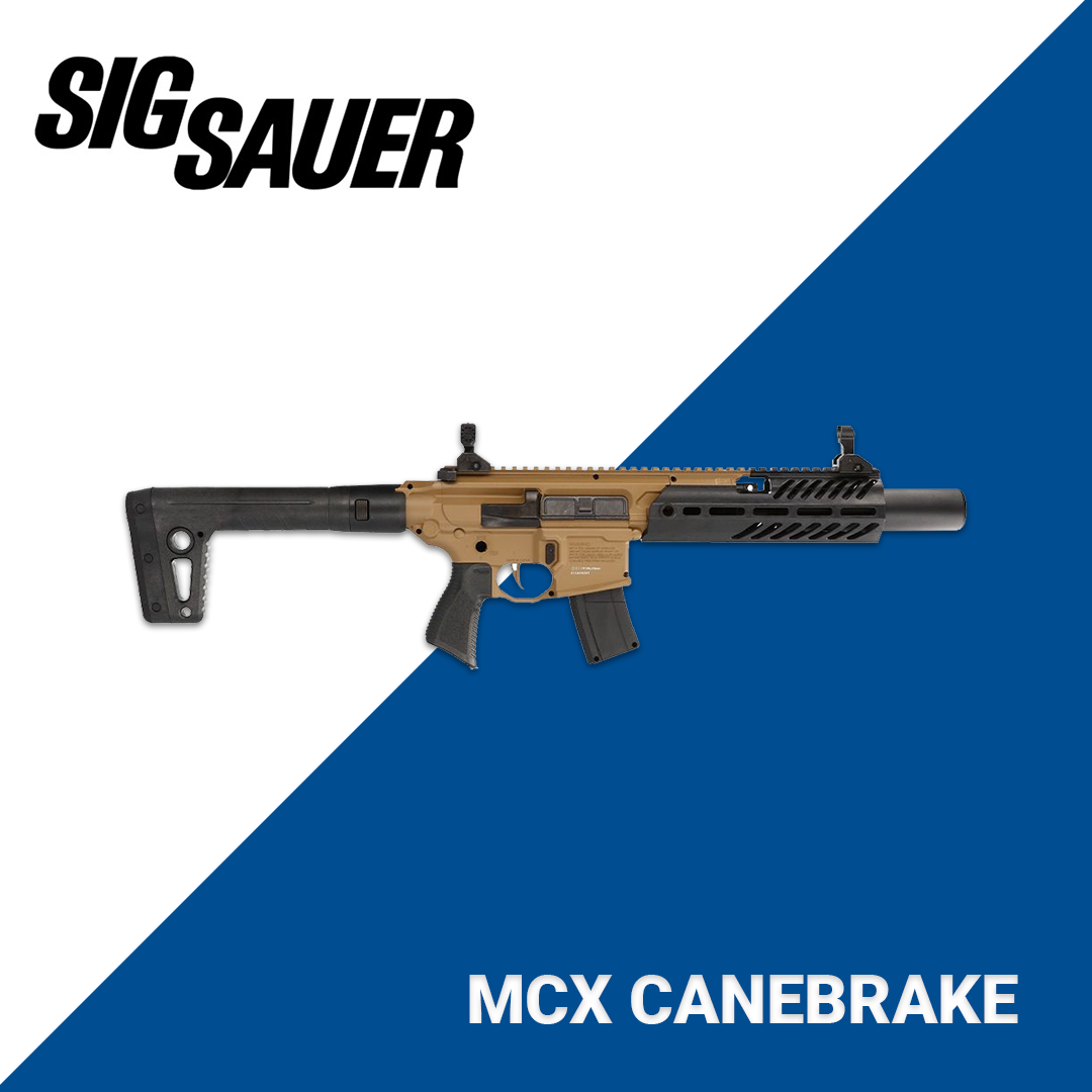 New Sig Sauer MCX Canebrake