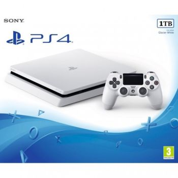 Sony Playstation (PS4) / Slim / 1TB / Белый