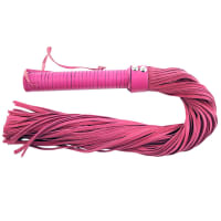 Porduct image for Rouge Garments Pink Suede Flogger