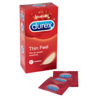 Porduct image for Durex Thin Feel 12 Pack Condoms