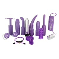 Porduct image for Dirty Dozen Sex Toy Kit Purple