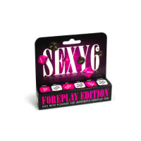 Porduct image for Sexy 6 Adult Dice Game Foreplay Edition