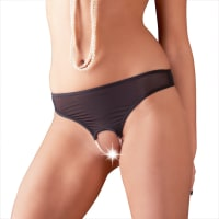 Porduct image for Open CrotchNet Panty Pearl String