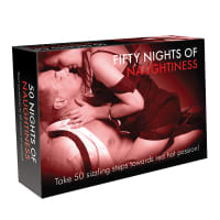 Porduct image for Fifty Nights of Naughtiness Game