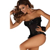 Porduct image for Corsetti Black Corset Minthe