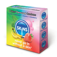 Porduct image for Skins Flavoured Condoms 4 Pack