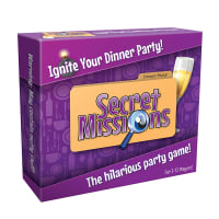 Porduct image for Secret Missions Dinner Party Game