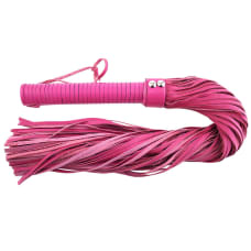 Buy Rouge Garments Large Pink Leather Flogger Online