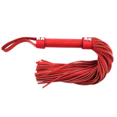 Buy Rouge Garments Red Leather Flogger Online