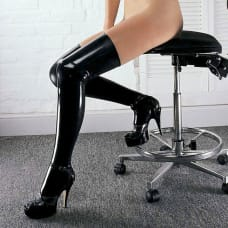 Buy Sharon Sloane Latex Thigh High Stockings Online