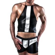 Buy Passion Black And White Shorts And Top Online