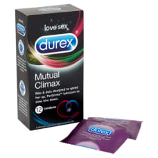 Buy Durex Mutual Climax 12 Pack Condoms Online