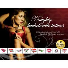 Buy Tattoo Set Naughty Bachelorette Online