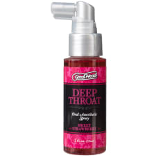 Buy Good Head Deep Throat Spray Strawberry Online