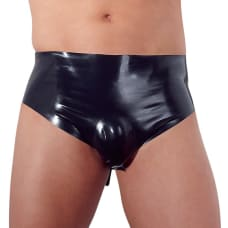Buy Latex Briefs with Anal Plug Online