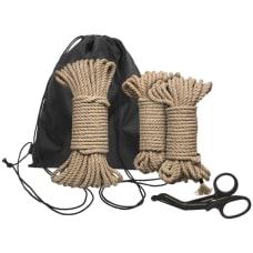 Buy Kink Bind And Tie Initiation 5 Piece Hemp Rope Kit Online