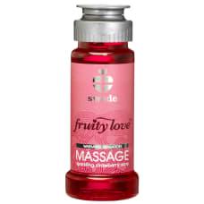 Buy Swede Sparkling Strawberry Wine Massage Oil 50ml Online