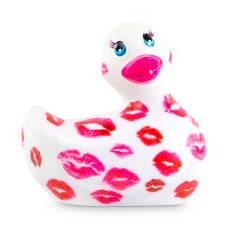 "Buy I Rub My Duckie ""White And Pink Romance"" Waterproof Mini Vibrator Online"