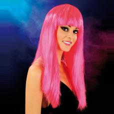 Buy Cabaret Wig Bright Pink Long Online