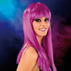 Buy Cabaret Wig Purple Long Online