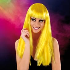 Buy Cabaret Wig Yellow Long Online