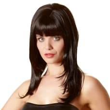 Buy Sexy Long Black Dress Up Wig Online