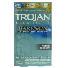 Buy Trojan BareSkin Condoms 10 Pack Online