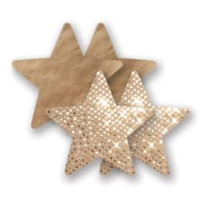 Buy Nippies Pasties  Gold Super Star Online