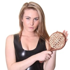 Buy House of Eros Inlaid Celtic Round Paddle Online