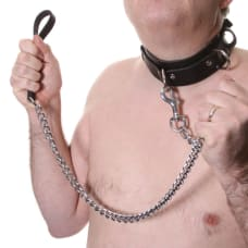 Buy House of Eros Large Mens Collar and Heavy Chain Lead Online