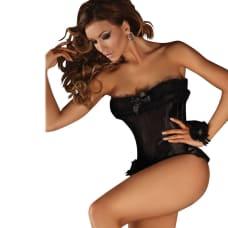 Buy Corsetti Black Corset Minthe Online