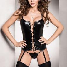 Buy Passion Bes Corset Black Online