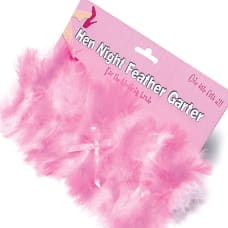 Buy Hen Night Feather Garter Online