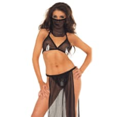 Buy 4 Piece Oriental Sexy Dress Up Set Online